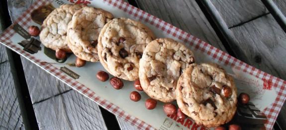 cookies chocolat noisette des recettes gogo le fait maison. Black Bedroom Furniture Sets. Home Design Ideas
