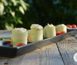 bouchees concombre saumon