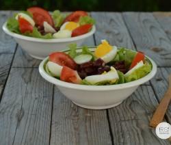 Salade de haricots au piment