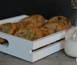 Cookies praline chocolat