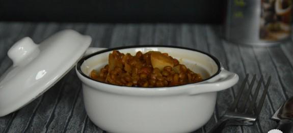 Lentillons de champagne au curry