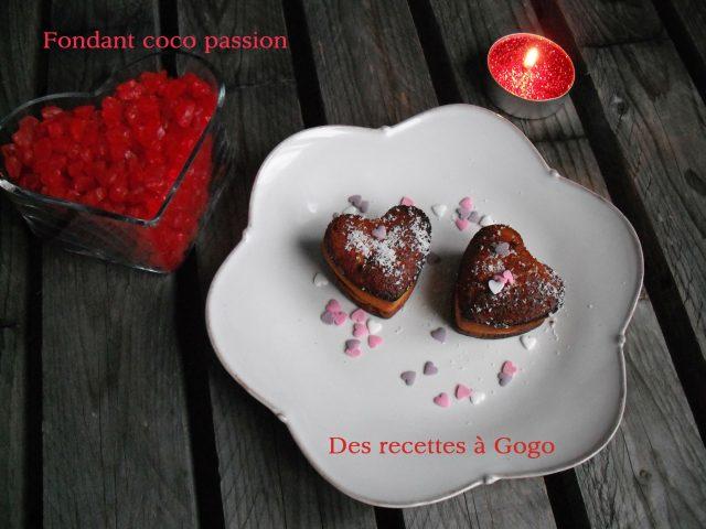 Fondant coco passion
