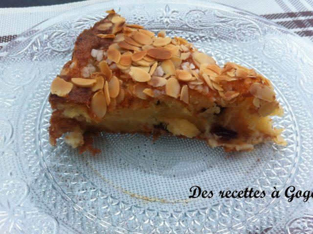 Gâteau moelleux fondant aux pommes de Sylvia