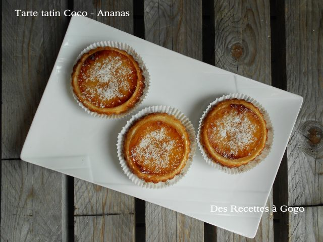 Tarte Tatin Coco – Ananas