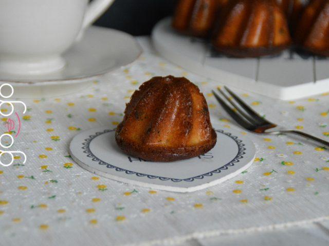 Moelleux à la marmelade d'orange et pépites de chocolat