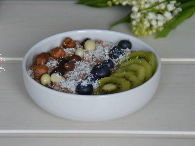 Porridge chocolat coco
