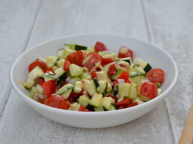 Salade de courgette tomate