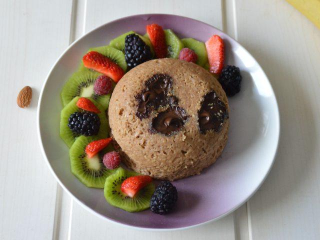 Bowlcake chocolat banane