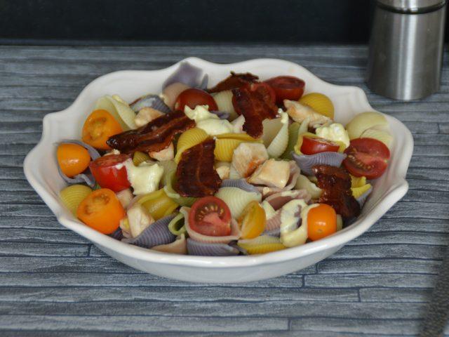 Salade de pâtes au poulet