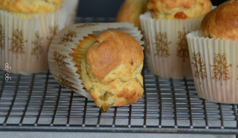 Muffins chèvre olive ricotta