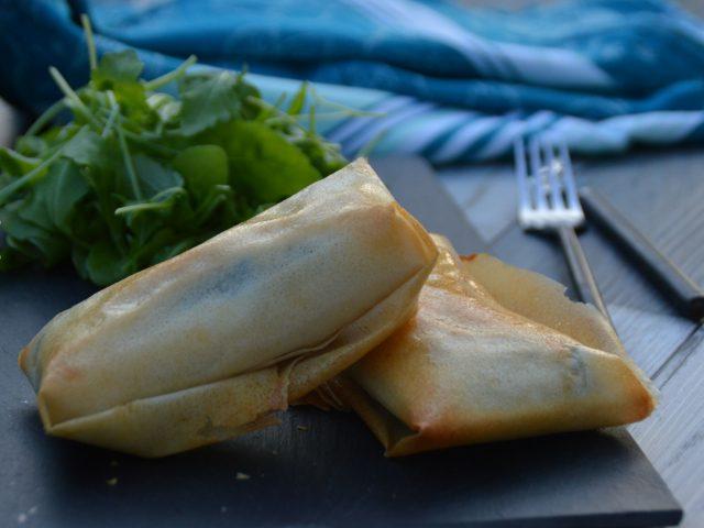 Croustillant épinard saumon