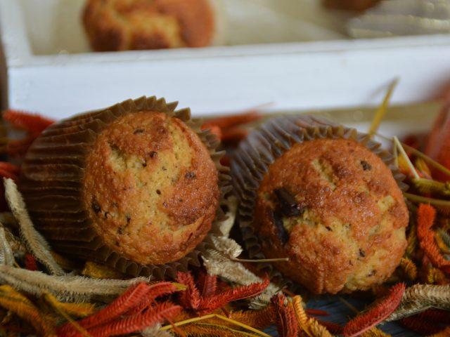Muffins clémentines coco et chocolat