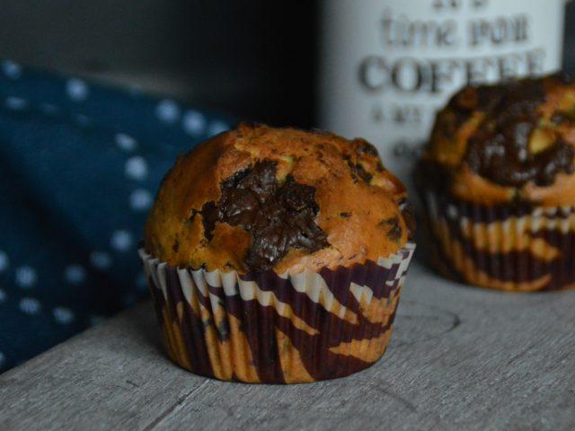 Muffins citron chocolat