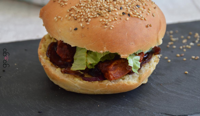 Burgers poulet façon barbecue