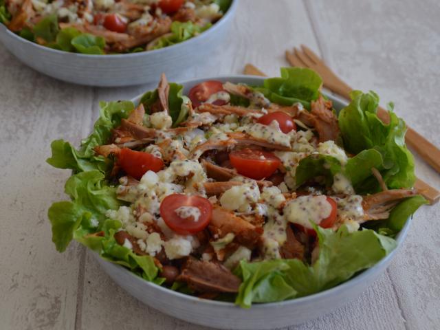Salade de poulet (avec des restes)