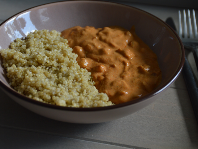 Curry de pois chiche au quinoa