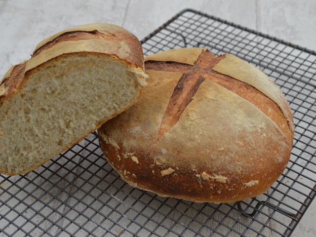 Boule de pain au levain